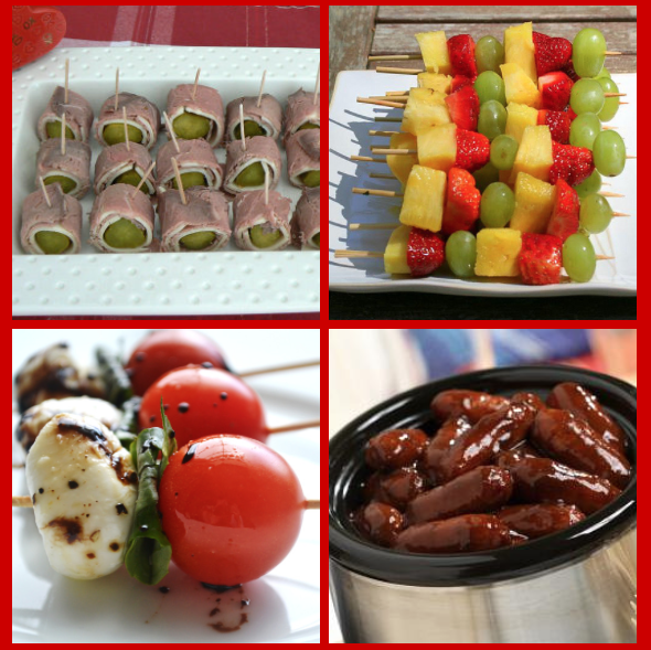 easy appetizers for parties