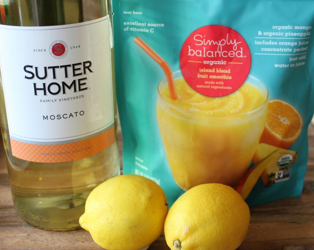 Moscato-Slushie recipe