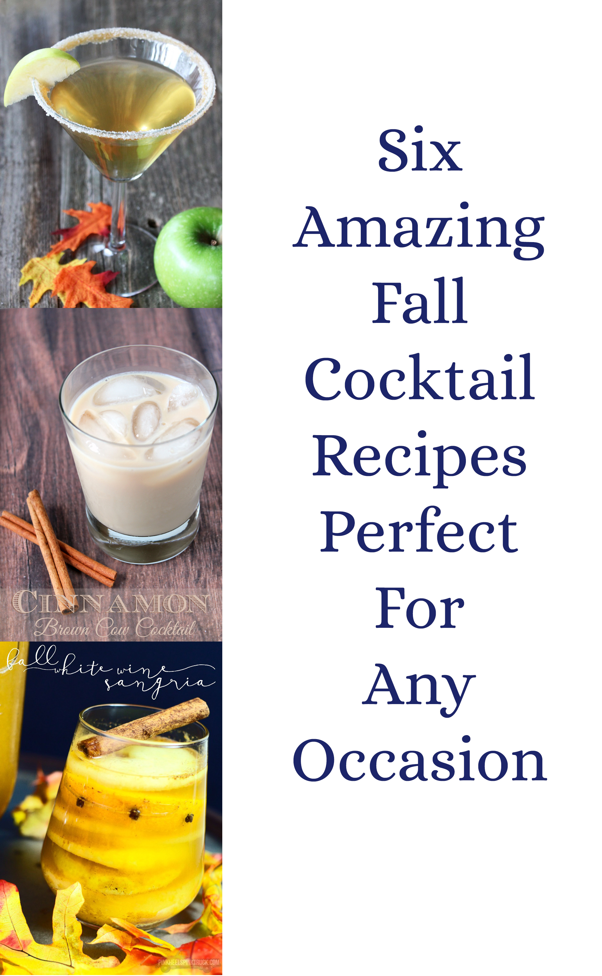 Amazing Fall Cocktails