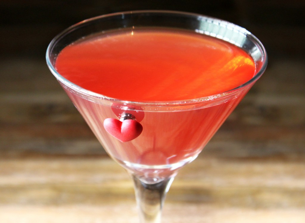 Skinny Pink Cosmo Cocktail